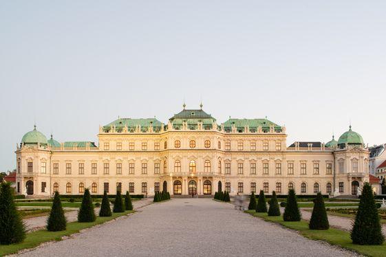 Unteres Belvedere & Orangerie