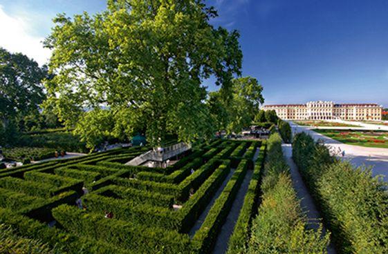 Schönbrunn: Irrgarten & Labyrinth